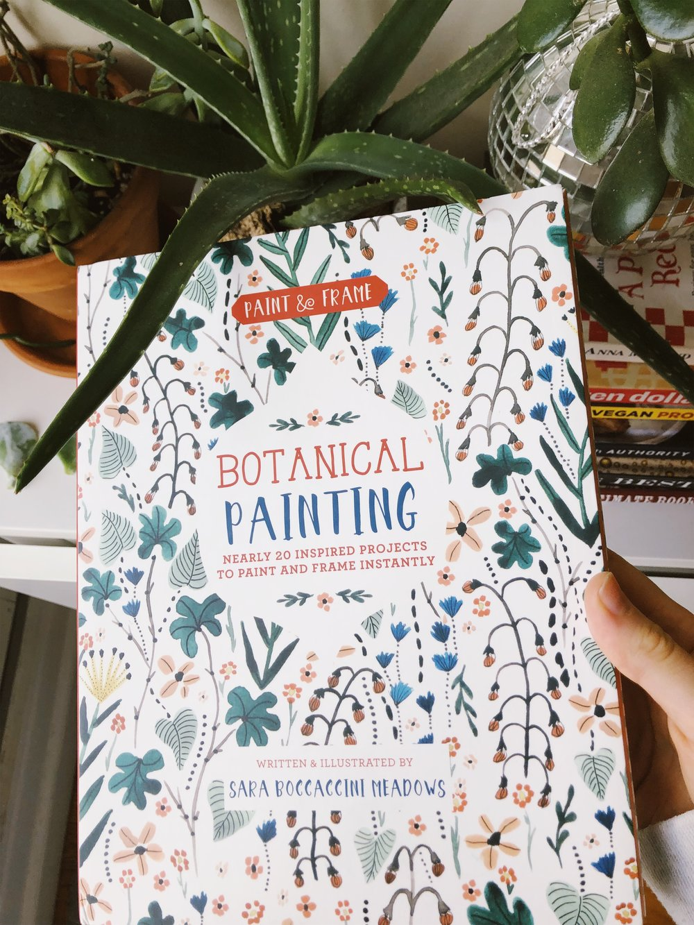 "A ""how to"" book from Sara Boccaccini Meadows for my mom. We can't wait to learn botanical painting!"