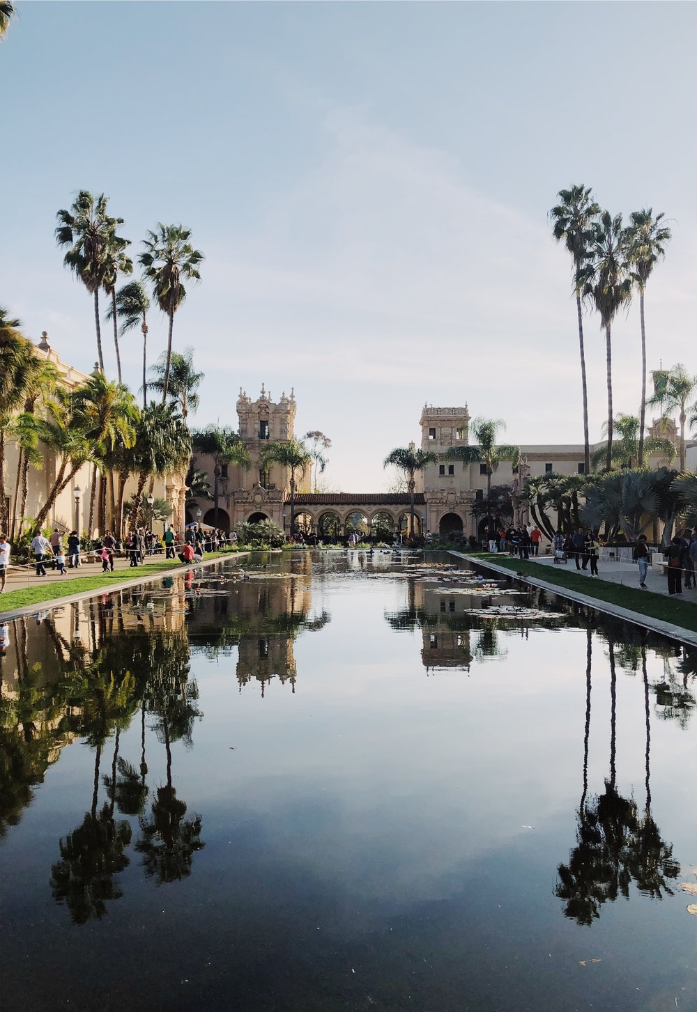 """Why head to LA for Disneyland when you can get lost in the crowds of Balboa Park? Joking aside, Balboa Park is a HUGE """"urban cultural park"""" home to the famous San Diego Zoo, sixteen museums, gardens, restaurants, theaters and more. -"""