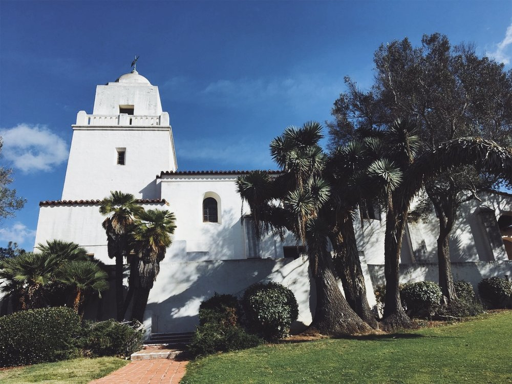 San Diego's Mission, known as Mission Basilica San Diego de Alcalá was the first of its kind to be built along the coast of California. It dates all the way back to 1769. -