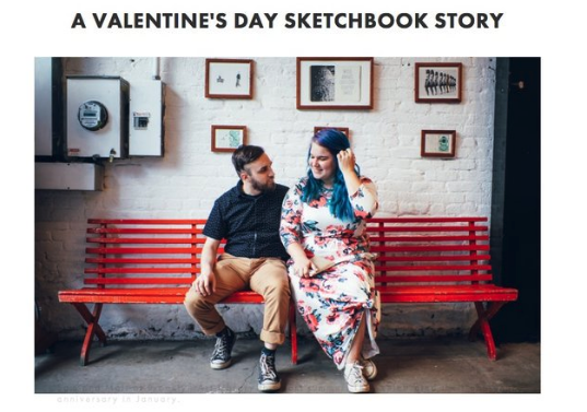 Wrote 'Artist Spotlight' blog posts to generate excitement within our existing community. Developed relatable content to promote repeat engagement. Over 45K reach. - For Brooklyn Art Library/The Sketchbook Project