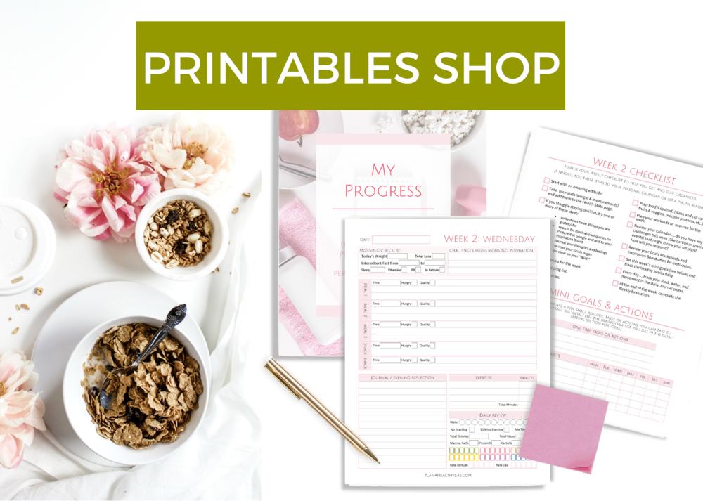 printables shop at plan a healthy life