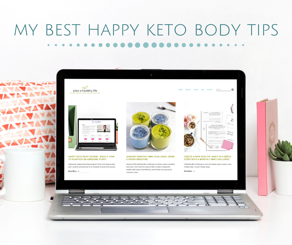 happy keto body tips by plan a healthy life