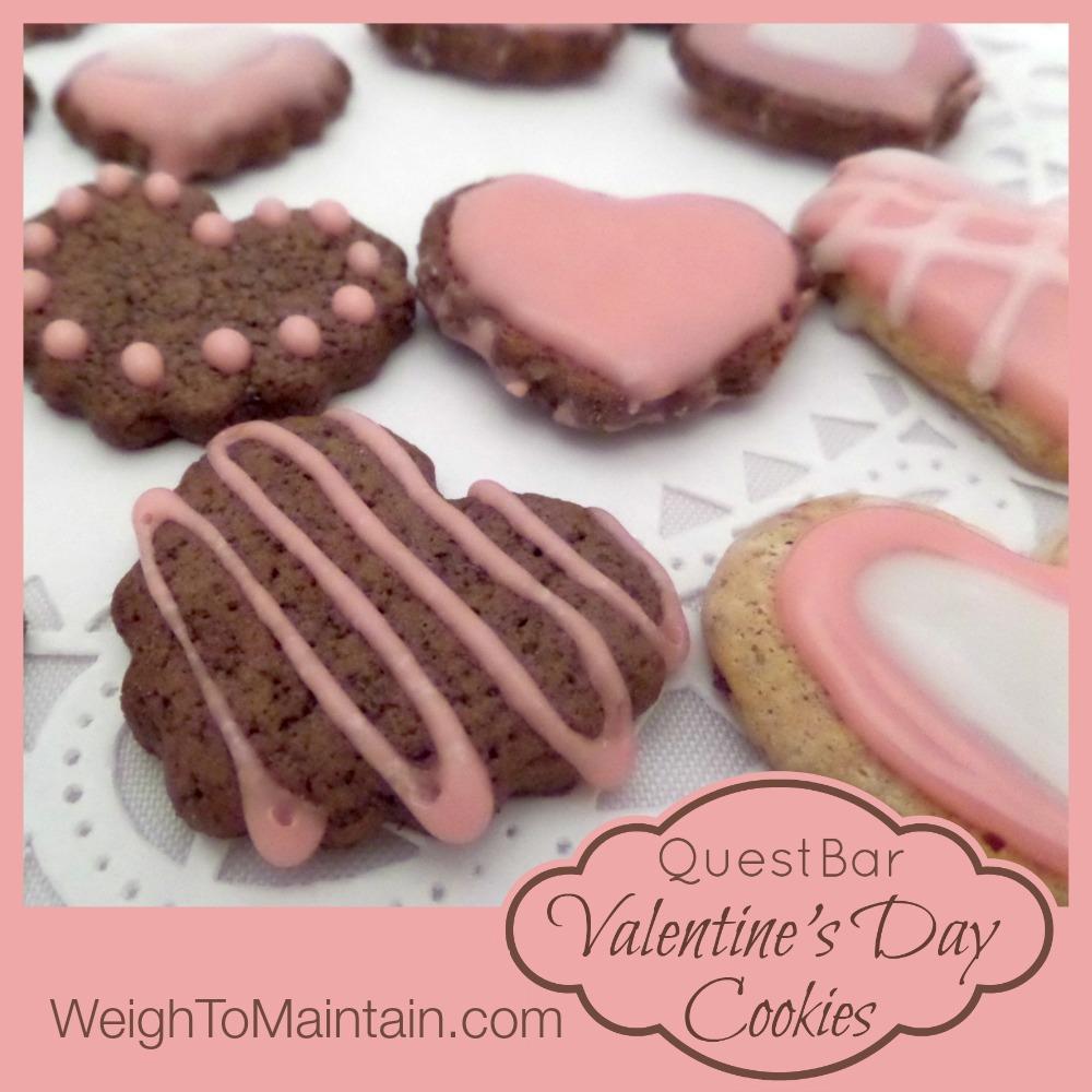 quest valentine's cookies
