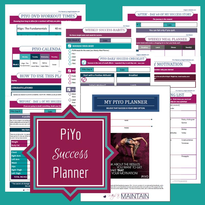 piyo planner