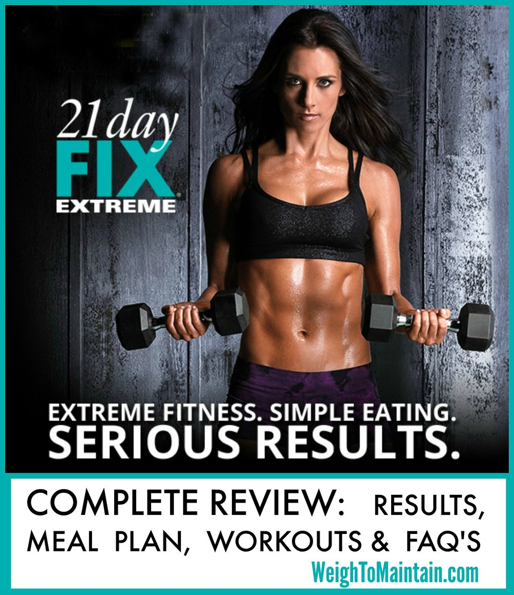 21 day fix extreme complete review