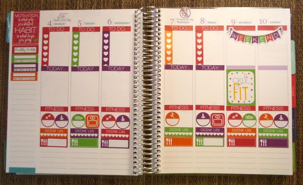 free printable stickers, healthy habits