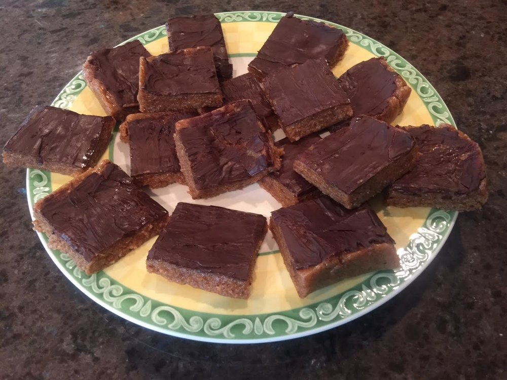almond protein bars by cecilia