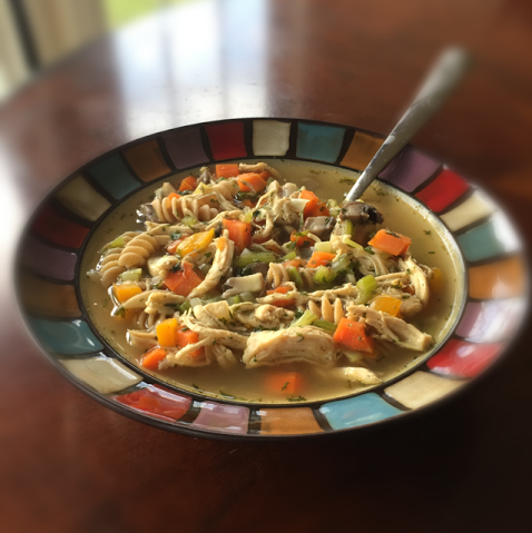 easy chicken noodle soup by katie r