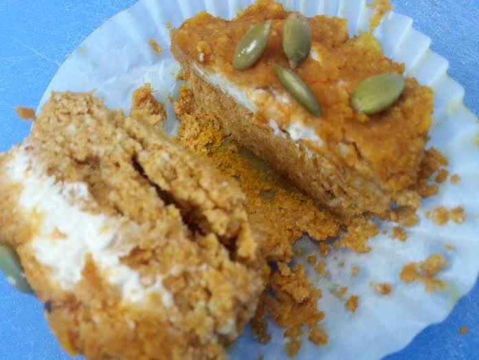 pumpkin muffins by kathleen