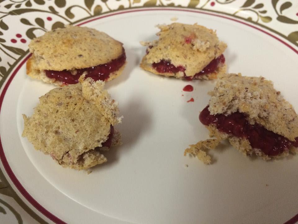 raspberry cookie bites by maryann p