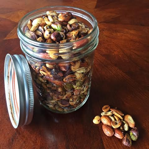 spiced nuts by katie r