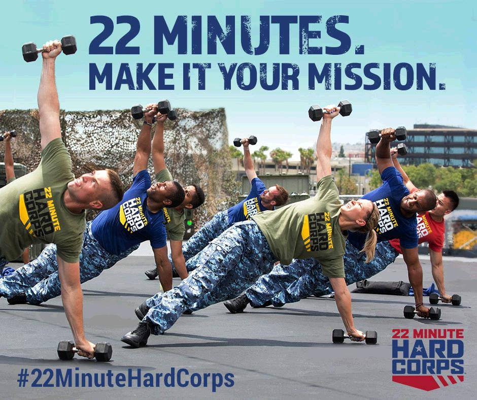 22 minute hard corps, hard corps, beachbody, weightomaintain