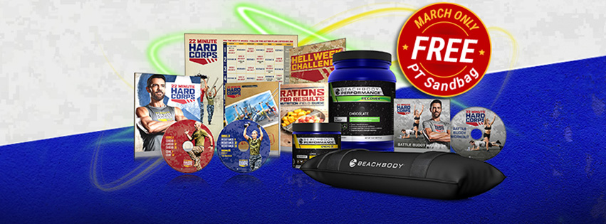 22 minute hard corps, hard corps, challenge pack, beachbody