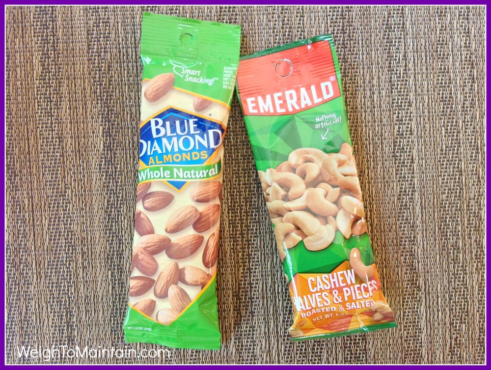 nuts healthy travel snacks