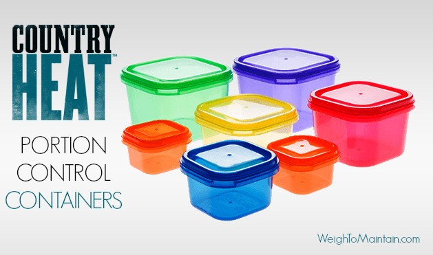 country heat portion control containers