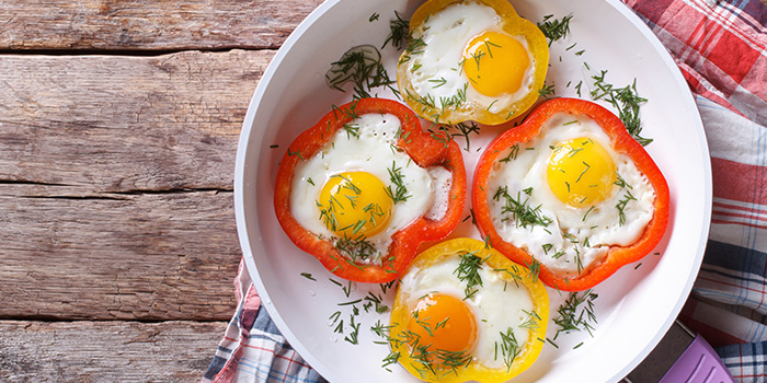 eggs in pepper rings recipe core de force 21 day fix