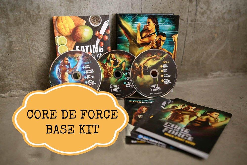 core de force faq, core de force workout, core de force Beachbody, challenge pack