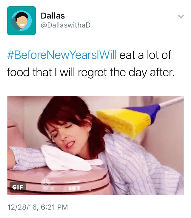 new year's diet resolutions