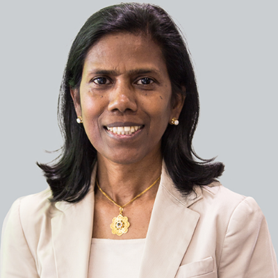 Professor Valsamma Eapen from University of New South Wales and director of Autism CRC.