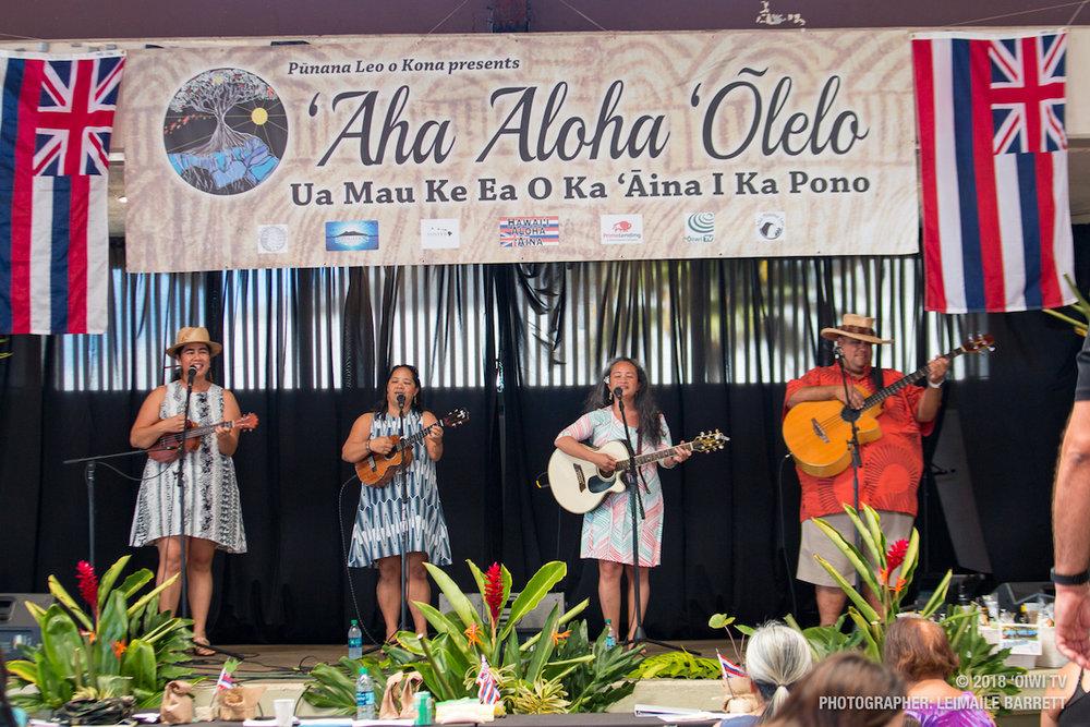 Aha Aloha Olelo - Kainani Kahaunaele