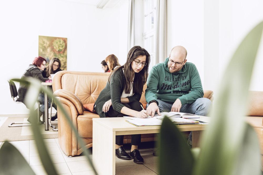 Zimmer für ZVA Akademie Studenten -