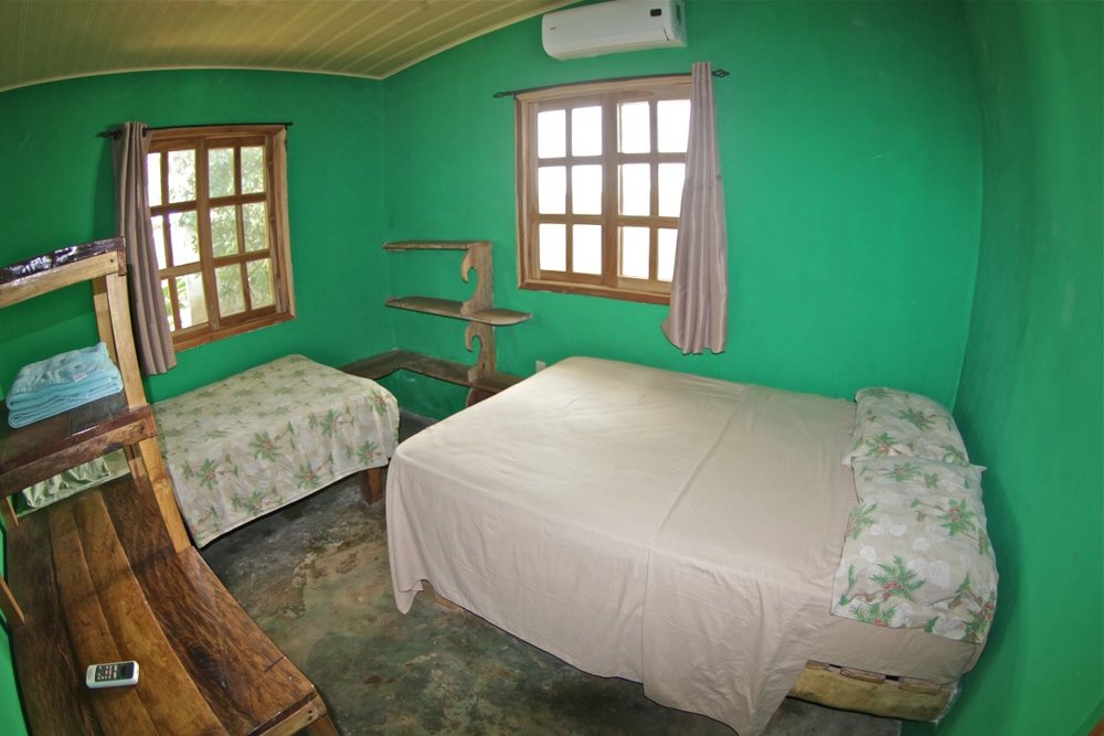 OPTION 2 - SINGLE ROOM W SHARED BATH AT BOARDERS HAVEN  Room with Air conditioning, shared bath with hot shower and communal kitchen