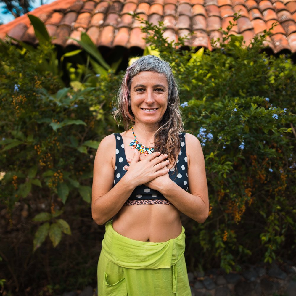 Eva Sion - Founder of EvaSion Thai Yoga, Thai Massage and Yoga TeacherEva´s spiritual journey starts in 2000 after completing her university degree in History of Art, when she traveled to Île la Réunion to take part in a university internship program. What should have lasted 1 year initially, ended up in a life-changing experience of 7 years, when she discovered spirituality, surf, Yoga and the love of a nomadic and free lifestyleDuring this period she started to become a perpetual traveler, discovering remote places such as Madagascar, Sri Lanka, Lombok or Australia, where she took her first certificate as Personal Fitness Trainer in 2007.While traveling in Bali she got her certification as a Spa therapist in 2008, what would take her to work in luxury spas in France afterward.It didn't take long for her to discover Thai Yoga Massage, a practice combining her passions: Yoga, meditation, and bodywork. She became a devote student and practitioner. She starts her journey in 2009 at Lahu Village with the Sunshine School of Chiang Mai. She also became inspired by the several courses that she took with some masters from Thailand (Master Pichet, Jack Chaya...) and abroad.Yoga, that was initially a self-practice to stretch after surfing, became part of her daily routine. This will take her to India in 2010, where she felt deeper into this practice leading her to take a Yoga Teacher Training Certificate in a Satyananda Ashram, where she deepened her understanding and practice of YogaAfter that, she started assisting courses of her mentor in Thai Massage, Itzhak Helman. In 2013 he encouraged her to continue to spread the Love by becoming a teacher herself. Since then, Eva has organized many courses, retreats, and workshops around the world, in places such as Bali, Mexico, Spain, Panama, Morocco or the United States.Many have enjoyed her loving ways by receiving massage treatments or assisting with the original joyful meditative Hatha Yoga Classes she teaches.
