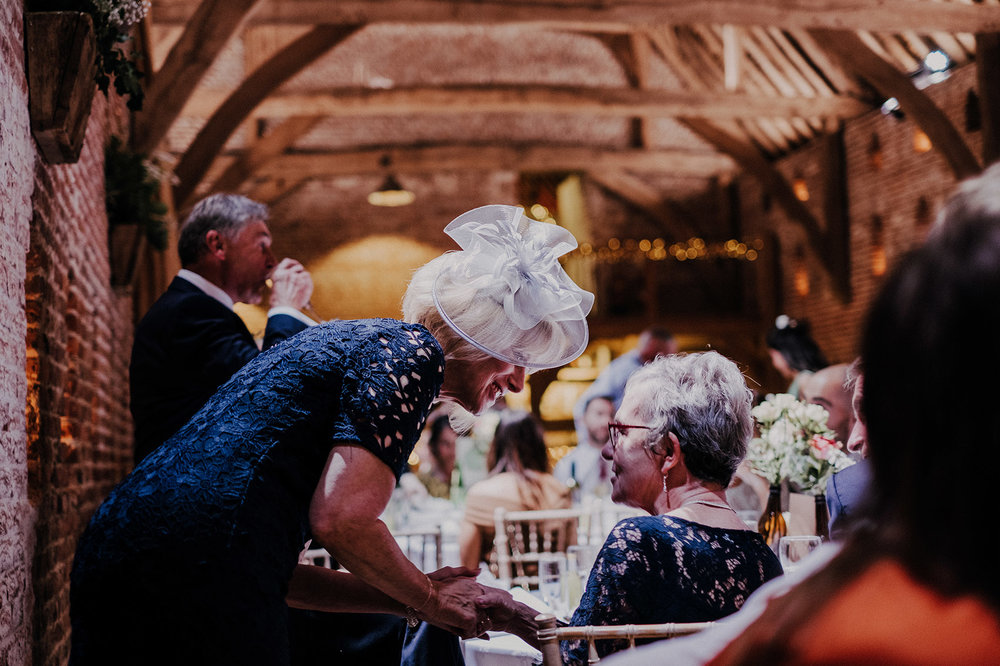 Documentary style photography at Norfolk wedding