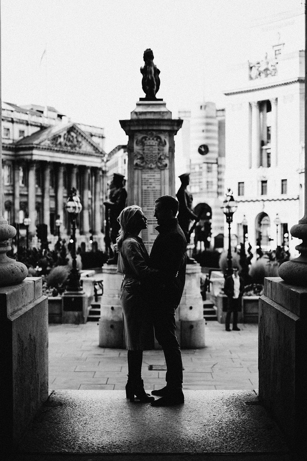 London Engagement Portrait