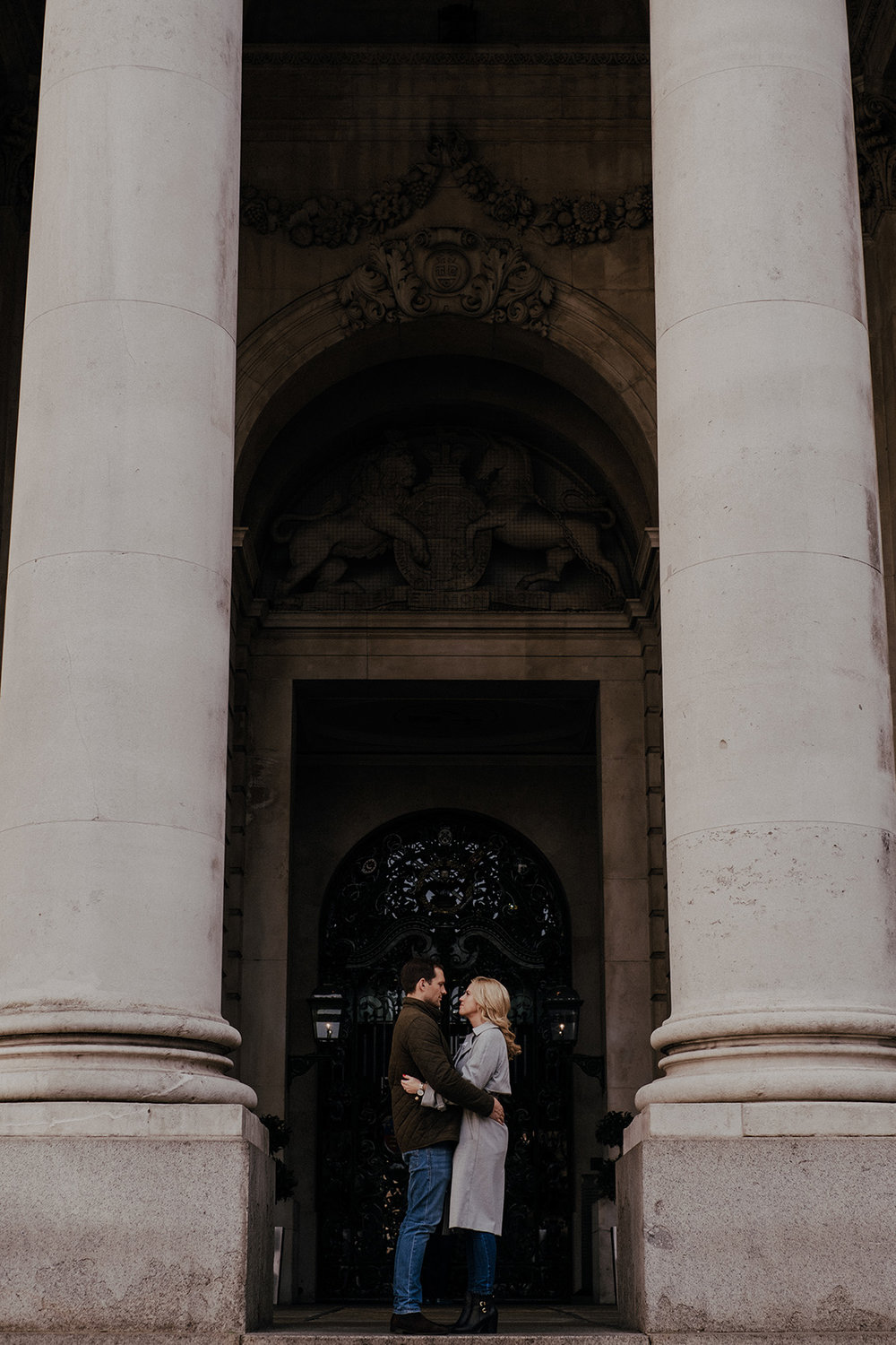 Relaxed Engagement shoot in London