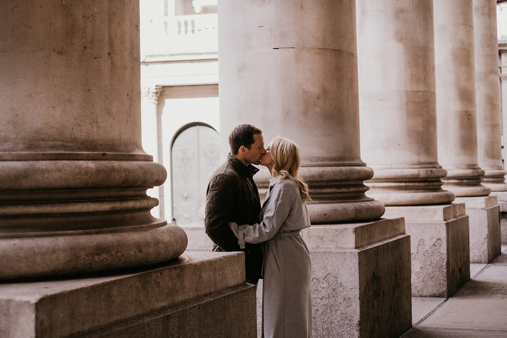 Relaxed Pre wedding photography in London