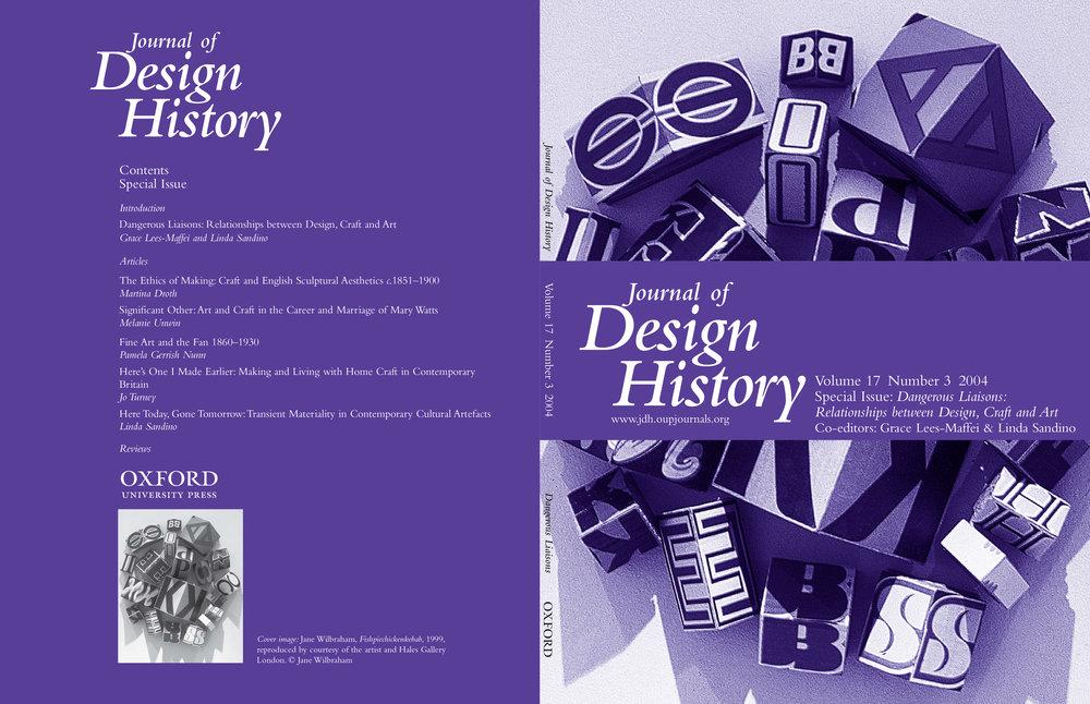 Dangerous Liaisons - Relationships between Design, Craft and Art