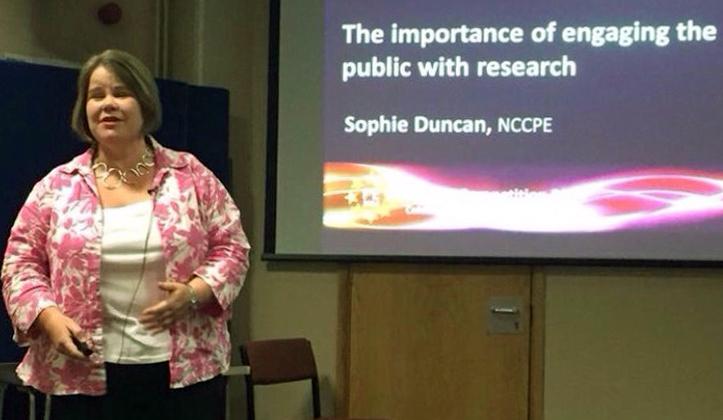 - Dr Sophie Duncan, Deputy Director NCCPE