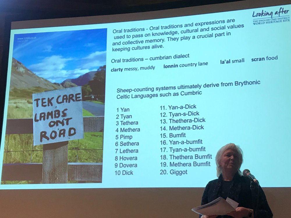 - Sheep counting systems, Mairi Lock, World Heritage Site Coordinator for the England Lake District World Heritage Site