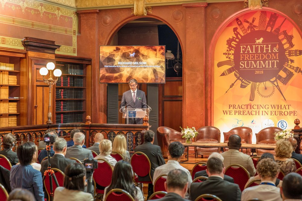 The Agenda - Of the launch event of the Faith and Freedom Summit