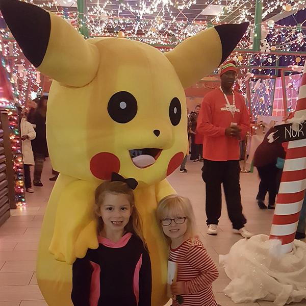 Meet Pikachu & more...