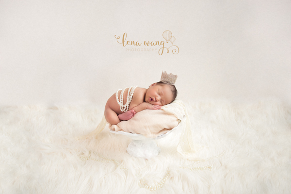 Santa Cruz Newborn Baby Girl Indoor Portrait Photography Los Gatos San Francisco Bay Area (3)