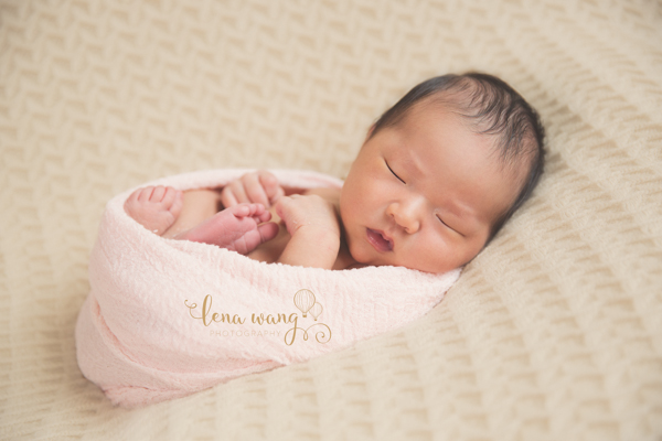 Santa Cruz Newborn Baby Girl Indoor Portrait Photography Los Gatos San Francisco Bay Area (4)
