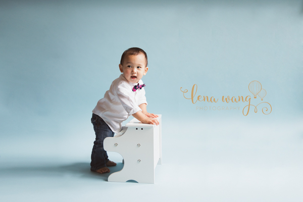 Palo Alto San Francisco Bay Area Baby 1 Year Portrait Cake Smash Photography Los Gatos Lena Wang Photography (2)
