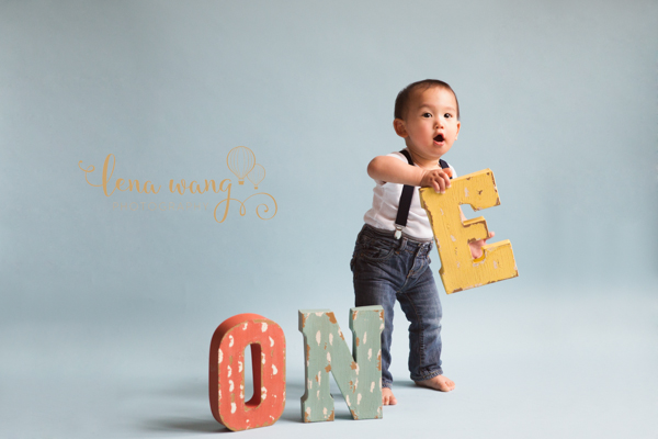 Palo Alto San Francisco Bay Area Baby 1 Year Portrait Cake Smash Photography Los Gatos Lena Wang Photography (3)