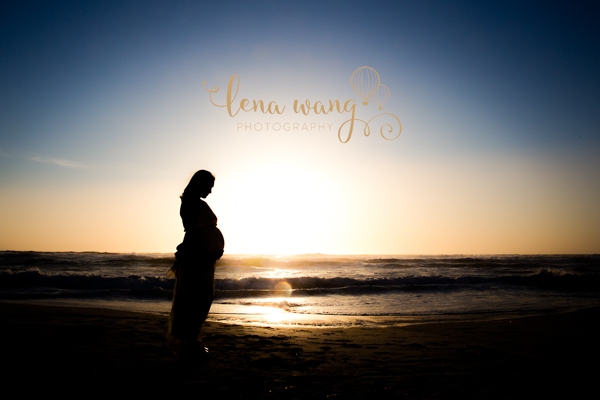 Monterey Beach Maternity Photography Portraits Los Gatos San Francisco Bay Area San Jose