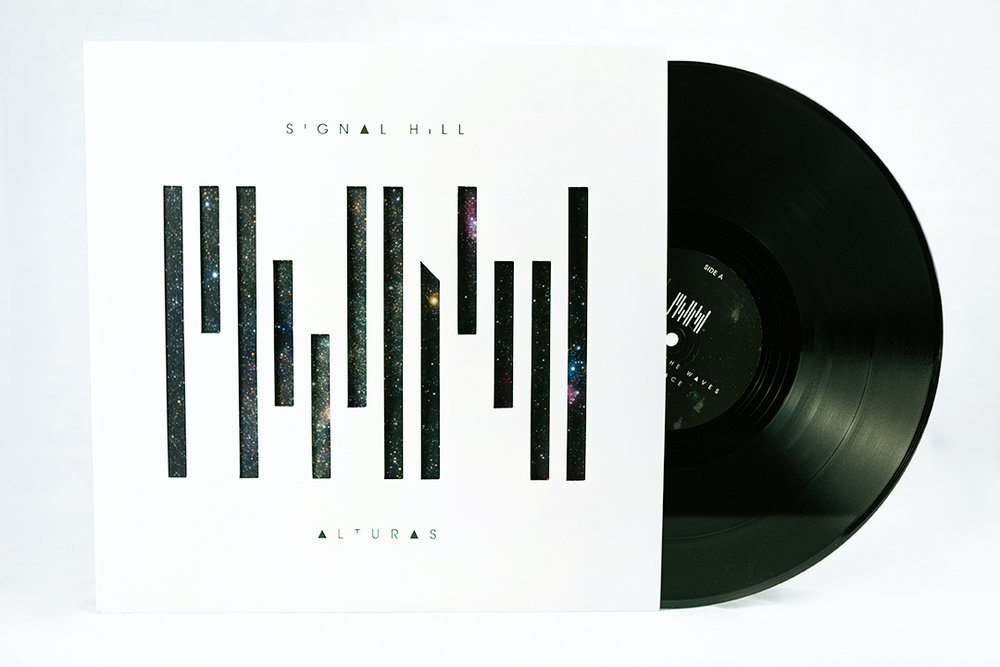 LP front cover + record
