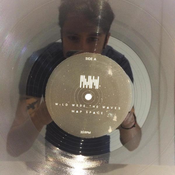 LP record label close-up