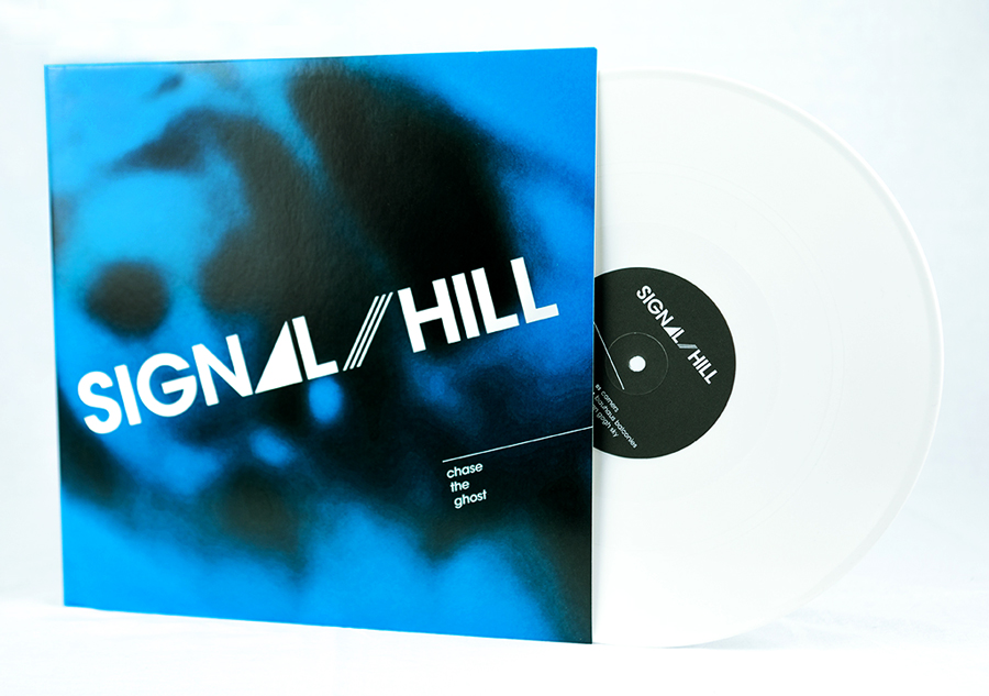LP front cover + white record