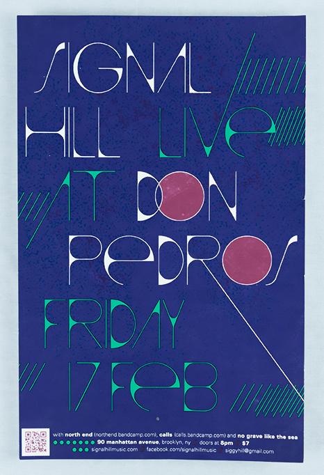 Signal Hill, Live @ Don Pedro's (Brooklyn), February 2012