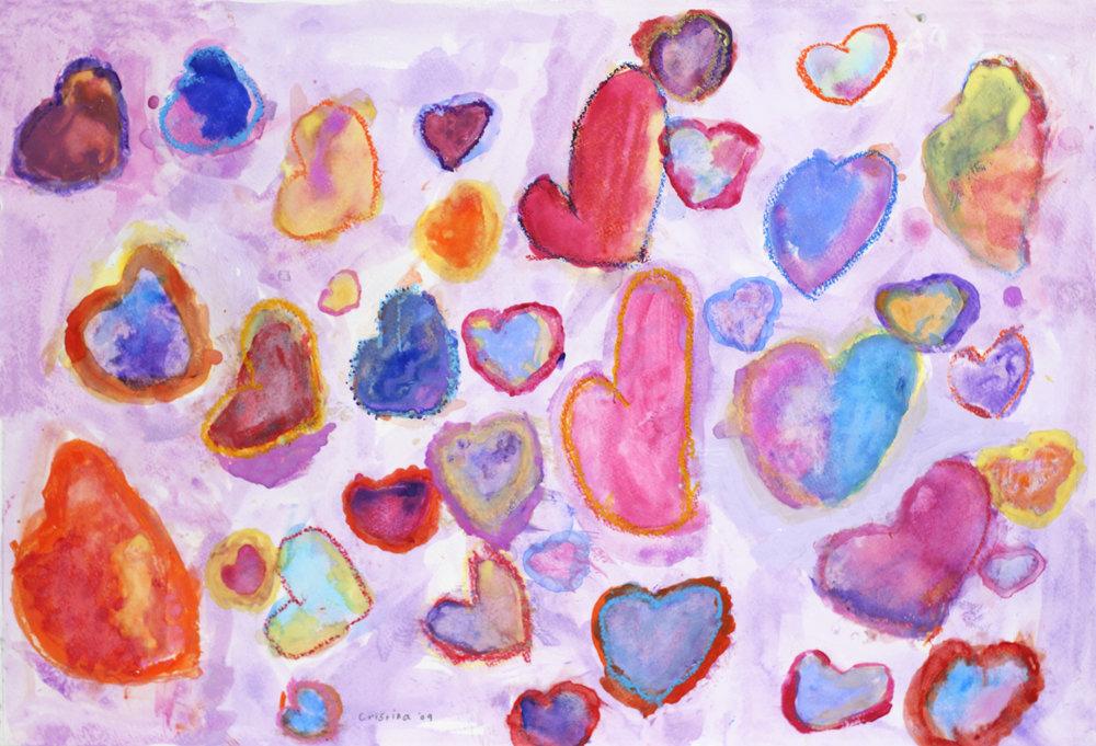 Cheer On... The Purple Hearts!
