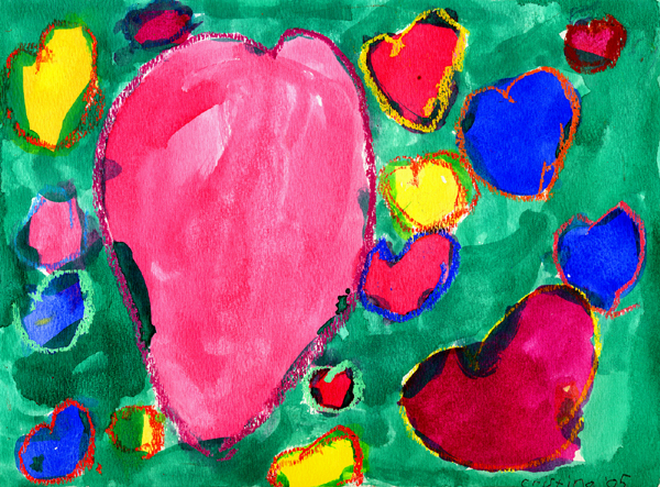 The 'Sweet' Hearts  (green)