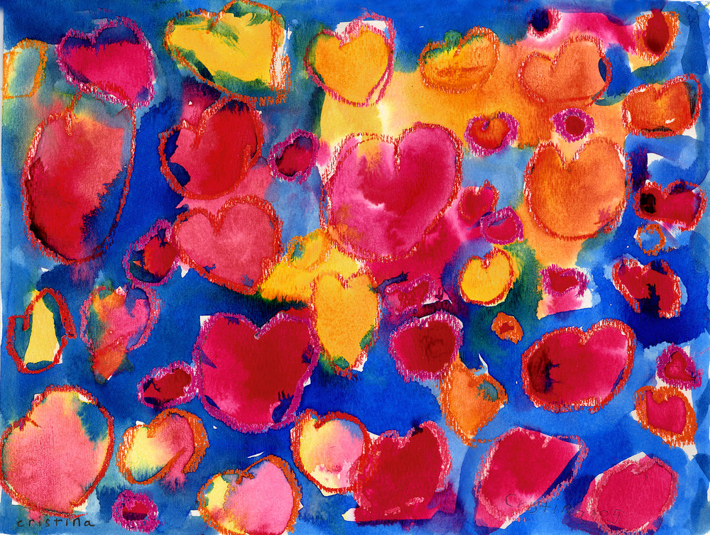 The 'Sweet' Hearts (blue)