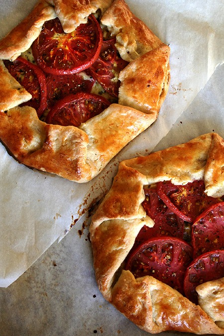 Alexandra Cook's Tomato, Corn and Cheese Galette