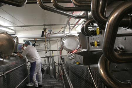 Roth Kase cheesemaking facilities